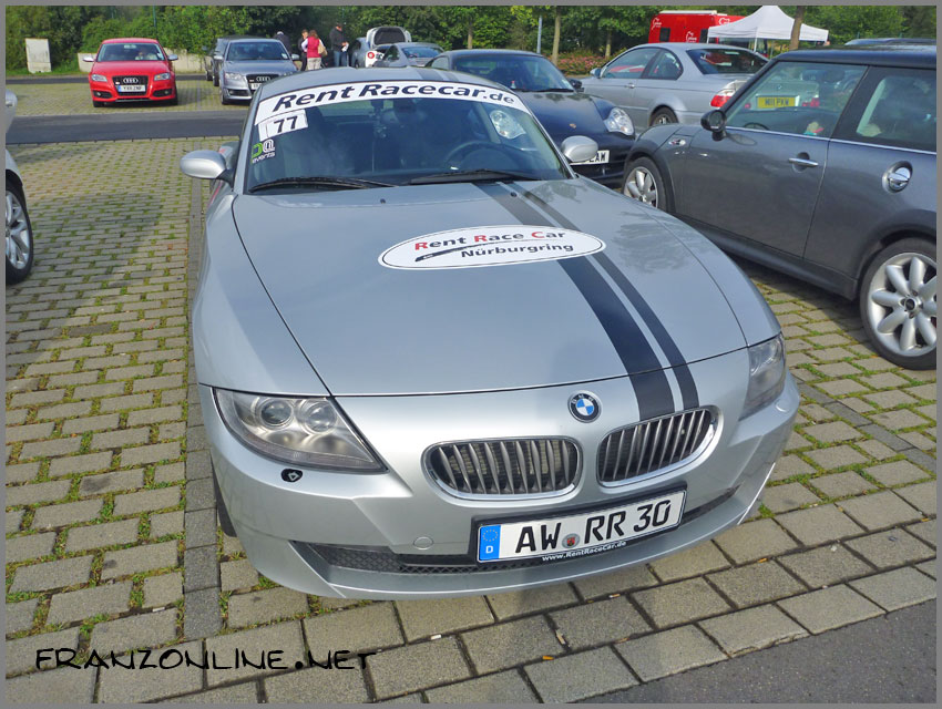 The RentRaceCar BMW Z4